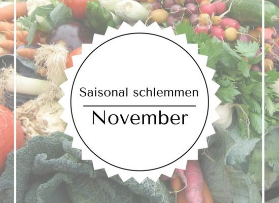 Saisonal schlemmen – November